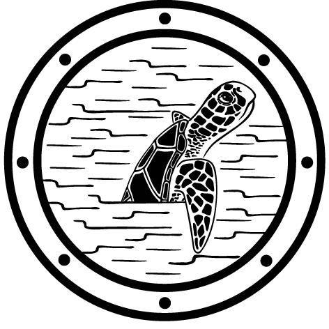 Stickers tortue de mer